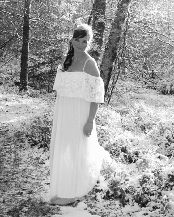 Smuk kjole og styling