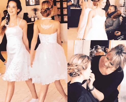 Modeshow med konfirmander - Jane Lykke